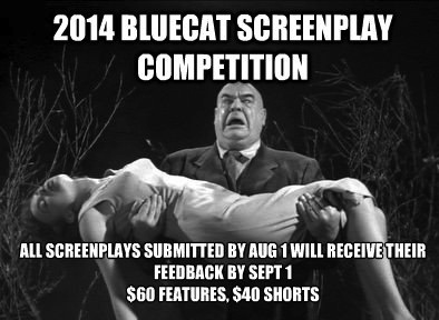 2014 BlueCat Screenplay Competition August 1st Deadline