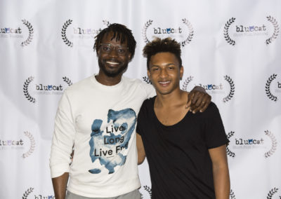 Left: Maxwell Addae - Director of OUTDOORING